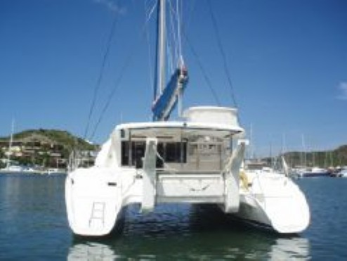 Used Sail Catamaran for Sale 2007 Leopard 46  Deck & Equipment